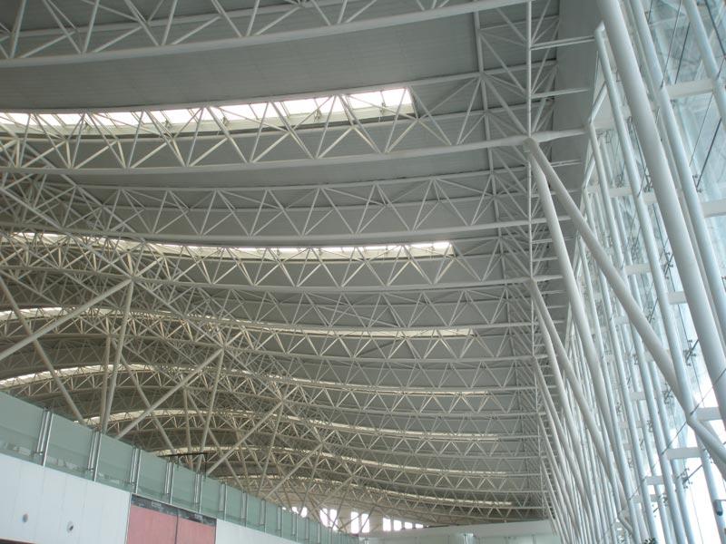 机场管桁架 管桁架 新疆鲁泉钢结构工程有限公司
